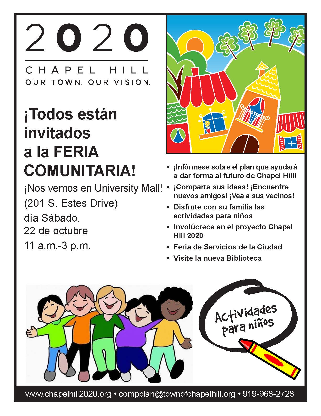 Community open house this saturday bring the kids for Open house spain
